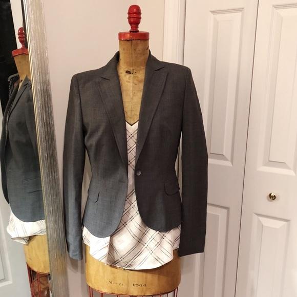a42fc137a Hugo Boss Jackets & Coats   Womens Gray Blazer   Poshmark